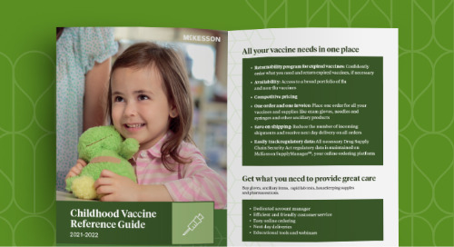McKesson childhood vaccine reference guide
