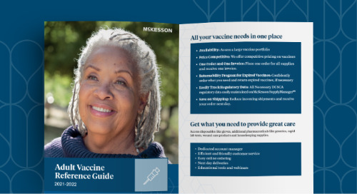 McKesson adult vaccine reference guide