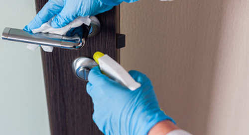 How to keep patients safe by cleaning & disinfecting environmental surfaces