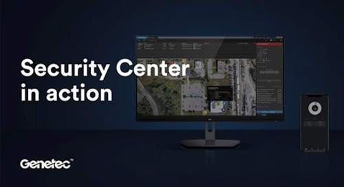 Genetec Security Center unified platform in action