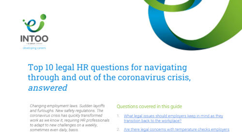 Top 10 Legal HR Questions on Navigating Through and Out of the Coronavirus Crisis, Answered