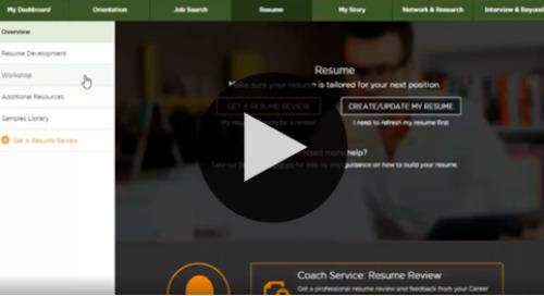 Resume Tools Video