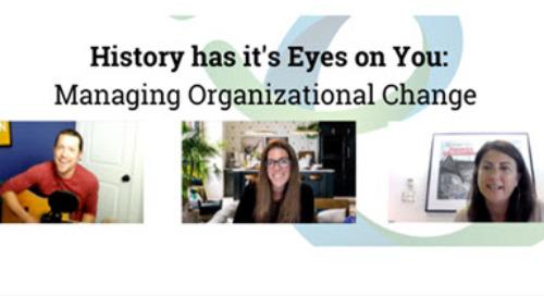 Webinar - Managing Organizational Change featuring CHRO Boston Red Sox + Hamilton Performance