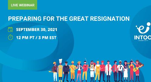 Preparing for the Great Resignation Webinar