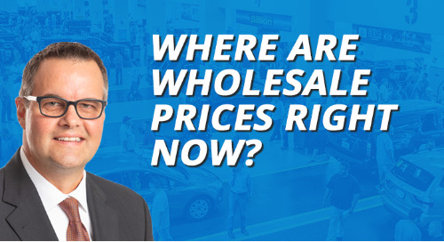 Where are Wholesale Prices Right Now?