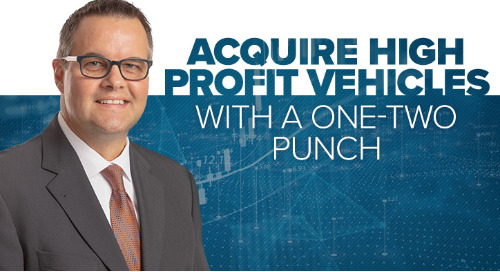 Acquire High-profit Vehicle With a One-two Punch