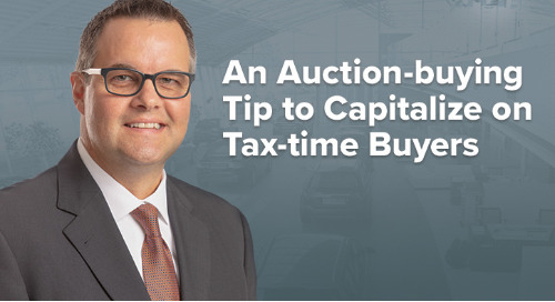 An Auction-buying Tip to Capitalize on Tax-time Buyers