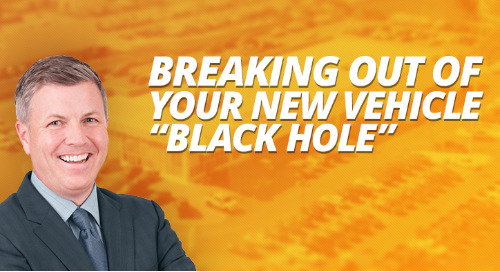 "Breaking Out of Your New Vehicle ""Black Hole"""