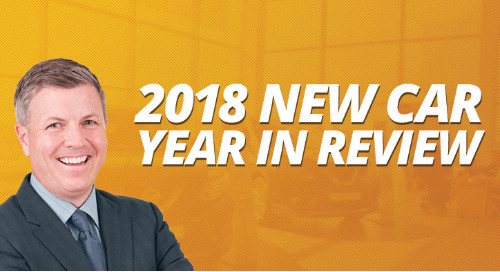 2018 New Car Year In Review
