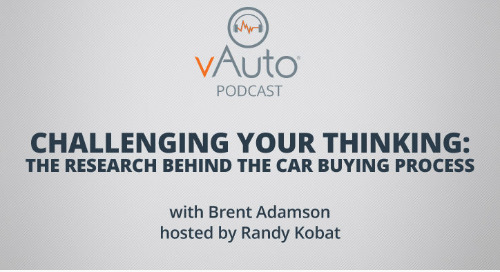 Challenging Your Thinking: The Research Behind the Car Buying Process
