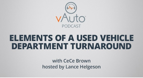 Elements of a Used Vehicle Department Turnaround