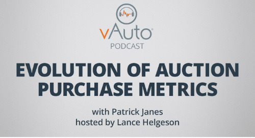 Evolution of Auction Purchase Metrics