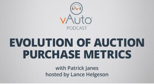 Evolution of Auction Purchase Metrics