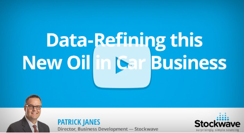 Data-Refining this Raw Oil in Car Business