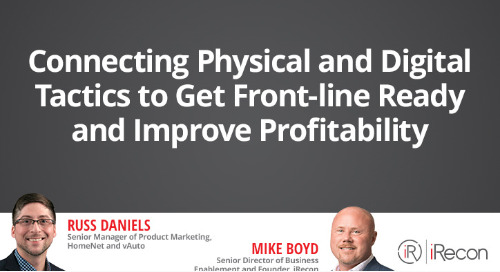 Connecting Physical and Digital Front Line Ready and Improve Profitability