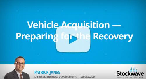 Vehicle Acquisition — Preparing for the Recovery