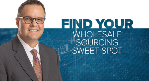 Find Your Wholesale Sourcing Sweet Spot