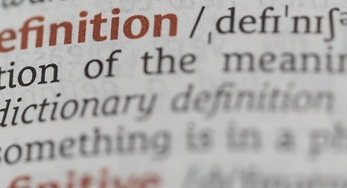 Getting on the Same Page…of the Dictionary