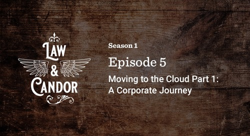 Moving to the Cloud: A Corporate Journey