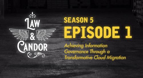 Achieving Information Governance through a Transformative Cloud Migration