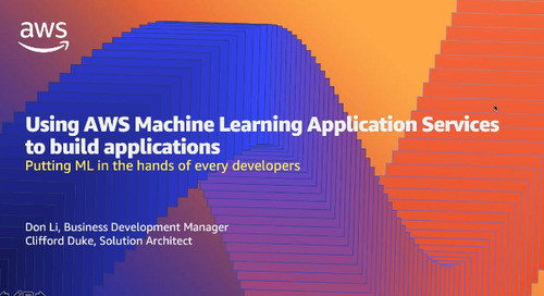 Build Intelligent Applications the Easy Way with AWS AI Services (Cantonese Webinar)