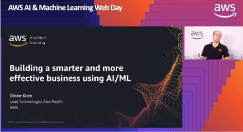 Opening Keynote - Building a smarter and more effective business using AIML on AWS (English Session)