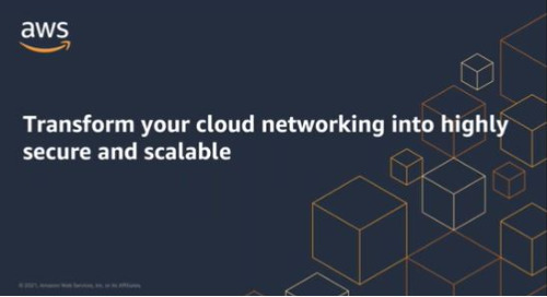Transform your cloud networking into highly secure and scalable (Cantonese Webinar)