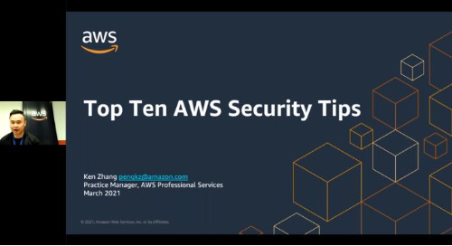 Top Ten AWS Security Tips (English Session)