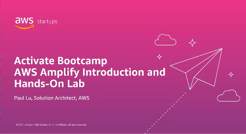 02 / AWS Amplify introduction & hands-on Lab