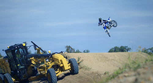 Machine Control and Motorcross Find Common Ground