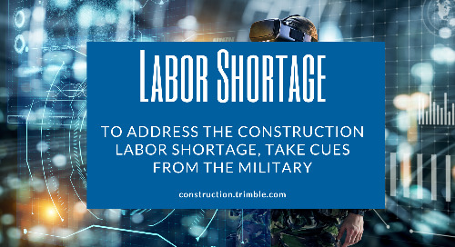 To Address the Construction Labor Shortage, Take Cues from the Military