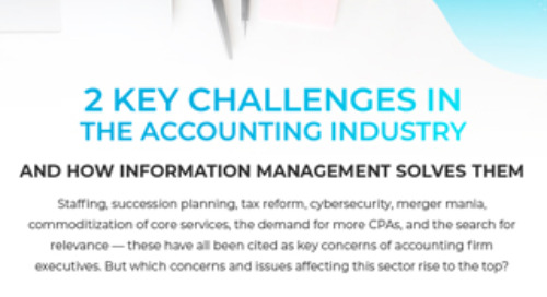 2 Key Challenges in the Accounting Industry and How Information Management Solves Them