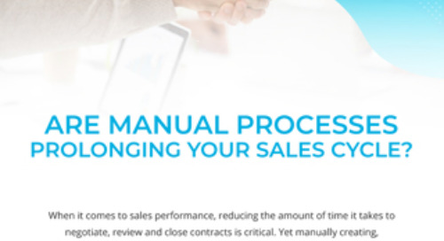 Are Manual Processes Prolonging Your Sales Cycle?