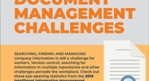 Infographic: Top Document Management Challenges