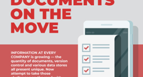 Infographic: Managing Documents on the Move