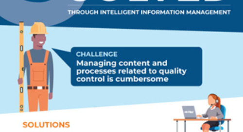 5 Manufacturing Industry Challenges Solved Through Intelligent Information Management