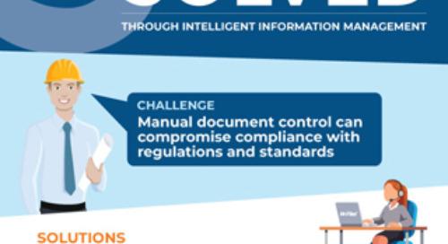 5 Oil & Gas Challenges Solved through Intelligent Information Management