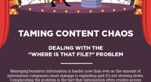 Taming Content Chaos