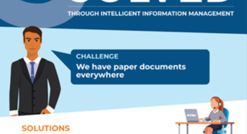 5 Financial Services Challenges Solved through Intelligent Information Management
