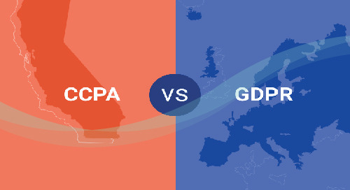 [INFOGRAPHIC] How does CCPA Compare to GDPR?