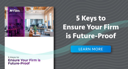 5 Keys to Ensure Your Firm is Future-Proof