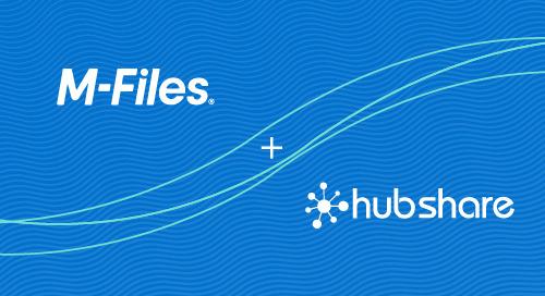 M-Files satsar på digitala kundupplevelser i världsklass genom förvärvet av Hubshare