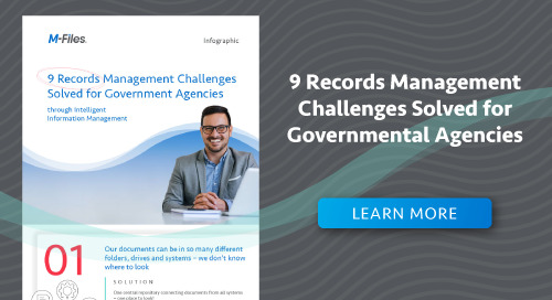 9 Records Management Challenges Solved for Governmental Agencies