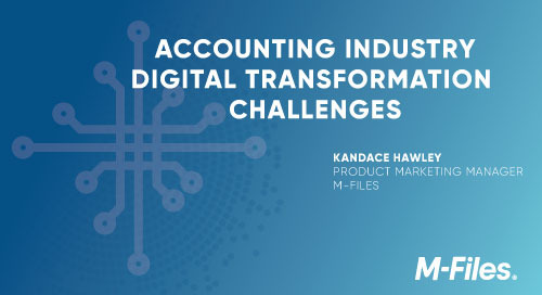 4 Accounting Industry Digital Transformation Challenges