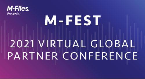 M-Files Honors 2021 Global Partner Award Winners