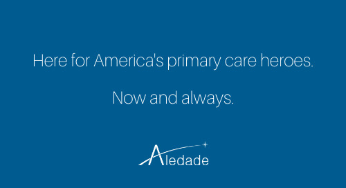 Supporting America's Primary Care Heroes - Aledade Nation Appreciation