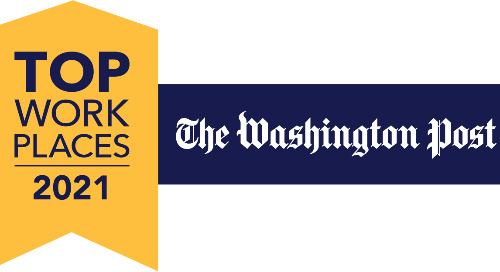 Aledade Named Top Washington-Area Workplace by The Washington Post