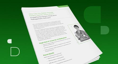SinglePointe Patient Medication Management