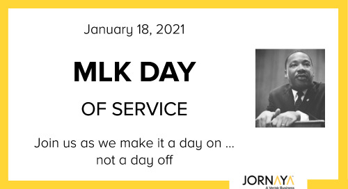 MLK Day of Service: Who Will You Help This Year?