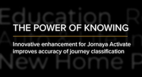 An Evolution in Consumer Behavior Identification and Classification: The Latest Release of Jornaya's Activate
